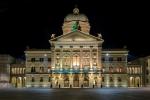 Bundeshaus bei Nacht