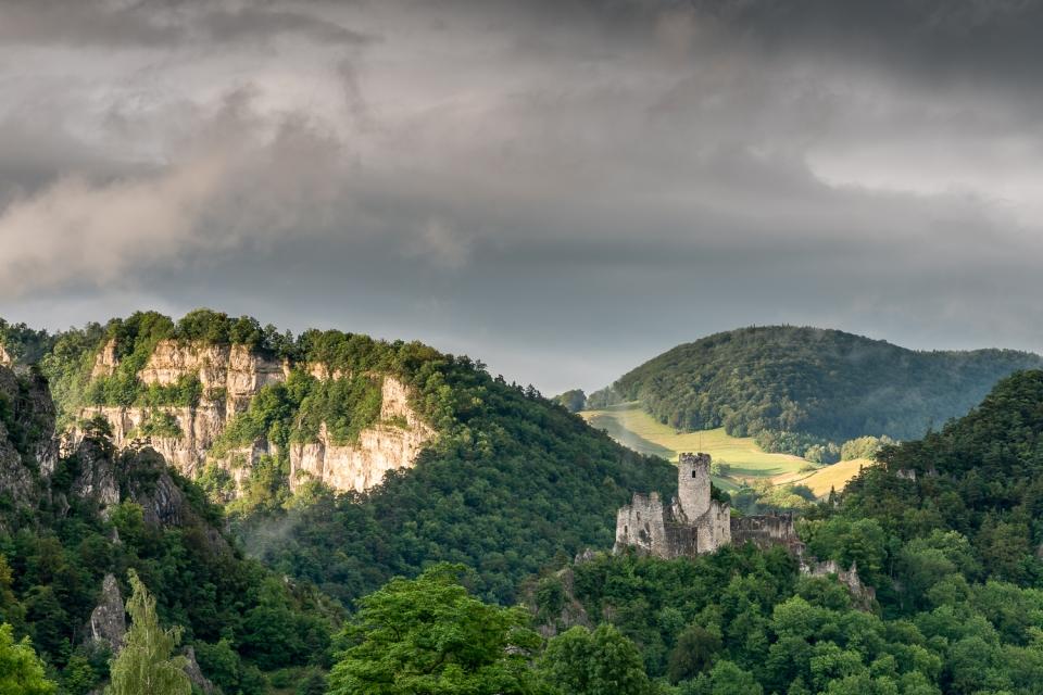 Schlossruine neu Falkstein