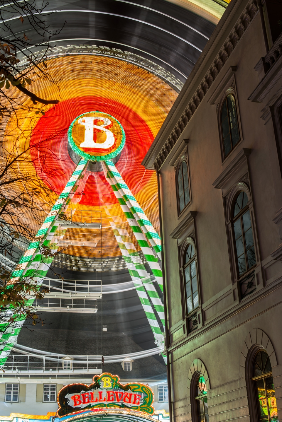 Riesenrad Herbsmesse Basel