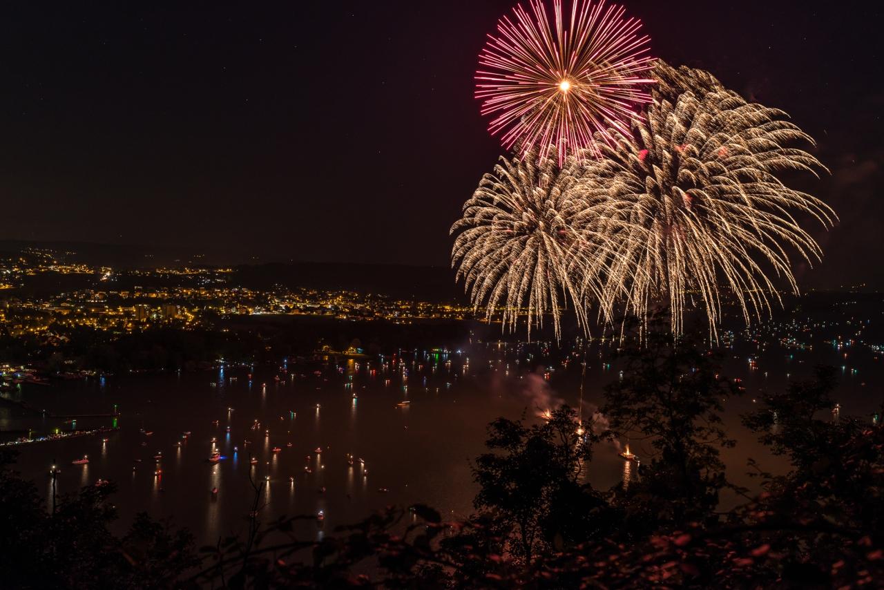 Feuerwerk Biel 2014