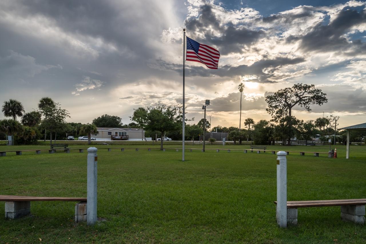 Wolken in Florida