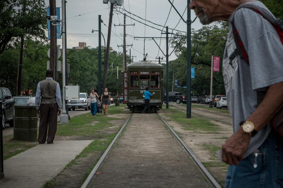 In den Strassen von New Orleans