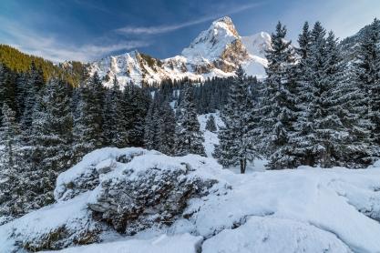 Gantrisch (BE) im Winter