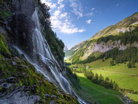 Wasserfall Berneroberland (BE)