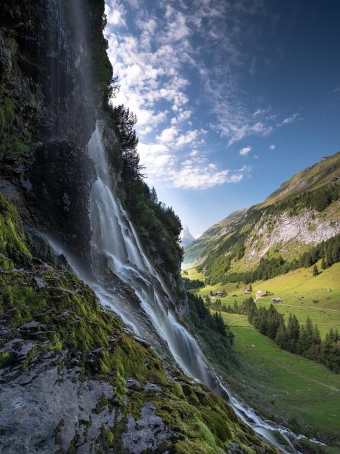 Der Wasserfall und das Gental