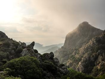 Die Region um den Monte Castello