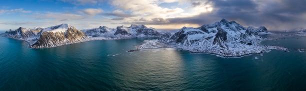 Flakstad Lofoten Norwegen